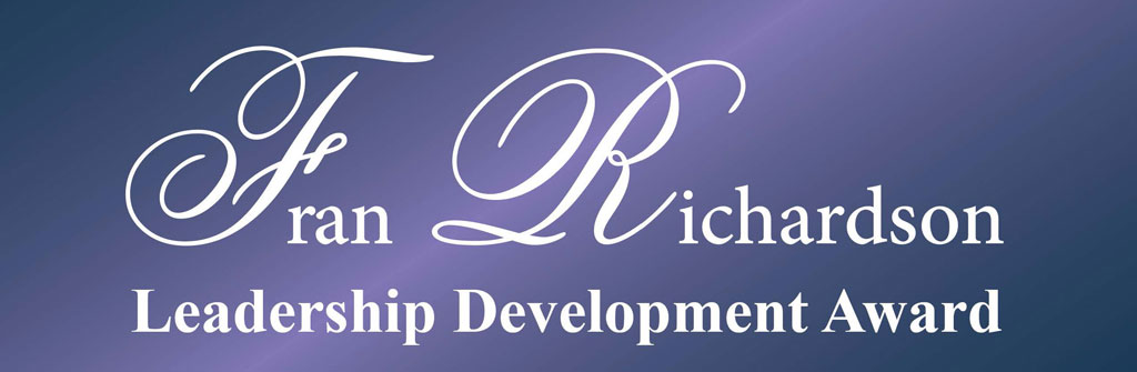 Fran Richardson Leadership Development Award